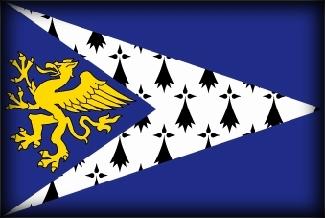 Culture Bretagne, drapeau breton, drapeau du pays de saint brieuc, bro sant brieg